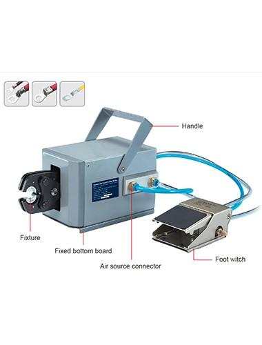 HC-03 Pneumatic terminal crimping machine