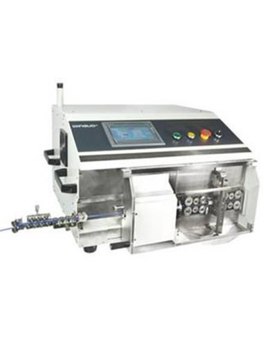 HC-9600A Fully automatic coaxial cable cut and strip machine