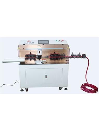 HC-608EX big cable cut and strip machine (10-185 square)