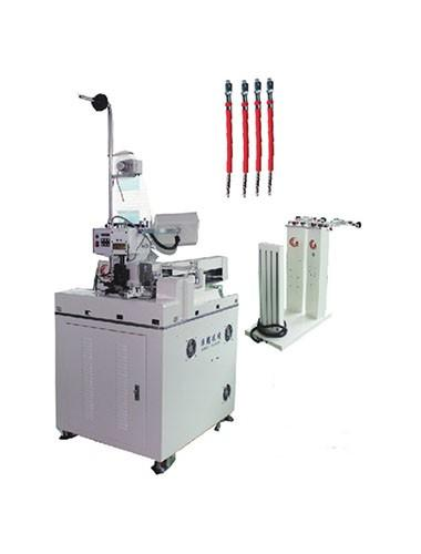 HC-10+NT Fully automatic one side cutting stripping twisting tinning, another side crimping  machine