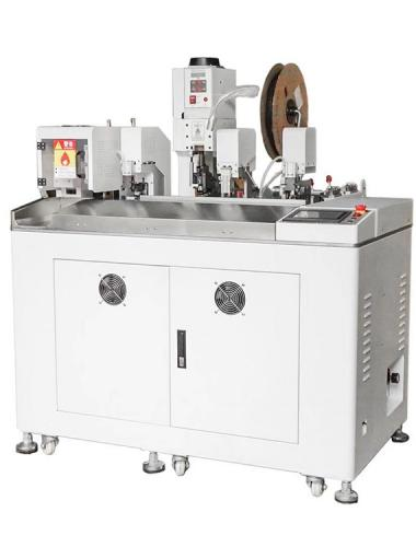 Fully automatic shrink tube heating terminal crimping machine press