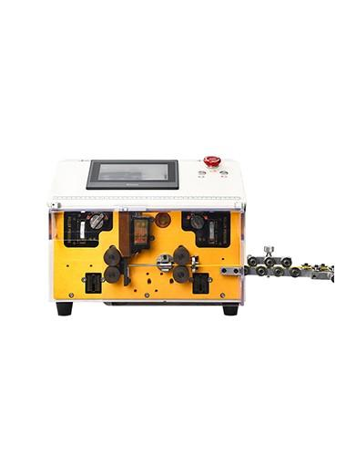 HC-608C Automatic electric wire cutting and middle stripping machine