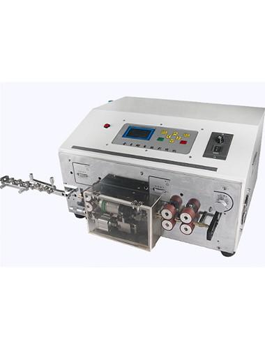 Fully automatic enameled wire stripping machine