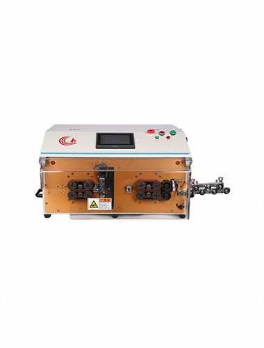 HC-608K1 —— Double layer jacket Cable Cutting and Stripping Machine