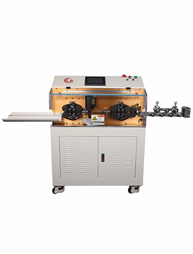 HC-608 L electric cable cutting machine and strip (70mm2)