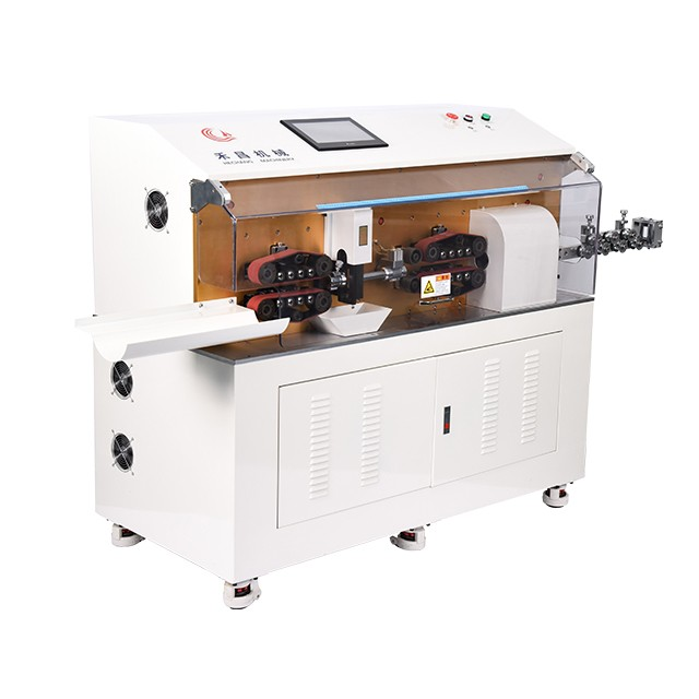 HC-608XZ Automatic multi-layer cable rotating cutting and stripping machine