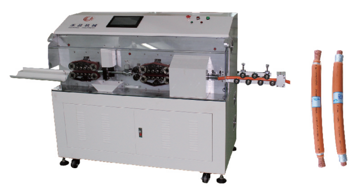 HC-608XZ Fully automatic multi-layer rotating cable cutting and stripping machine